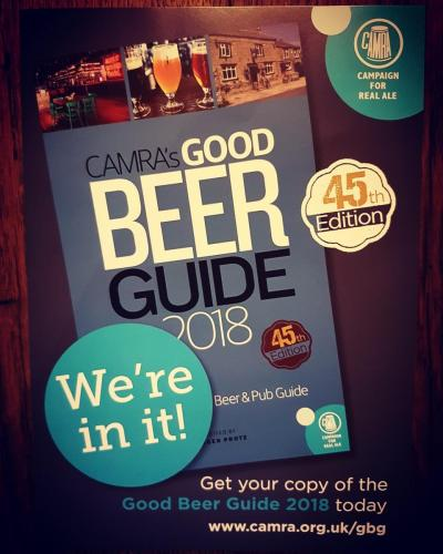 Good Beer Guide 2018...