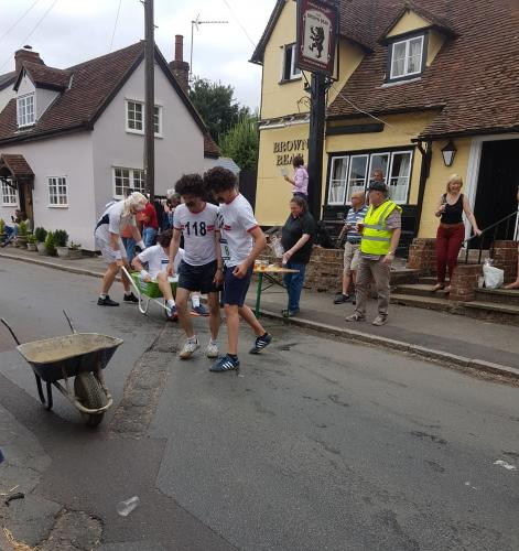 Braughing Wheelbarrow Race 2019